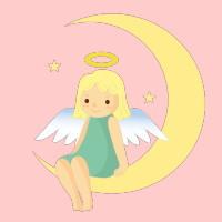 フォトブックの天使